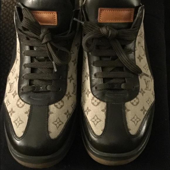 Vintage Louis Vuitton Sneaker   Poshmark